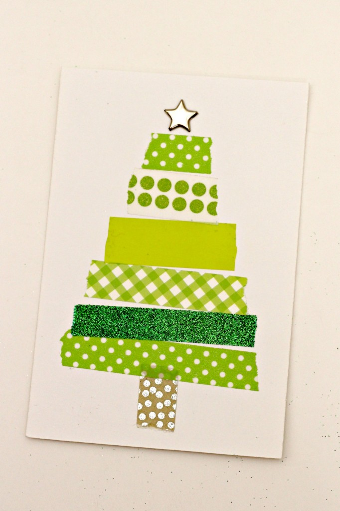 Washi Tape Tree - Organize and Decorate Everything