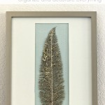 Easy Framed Feather