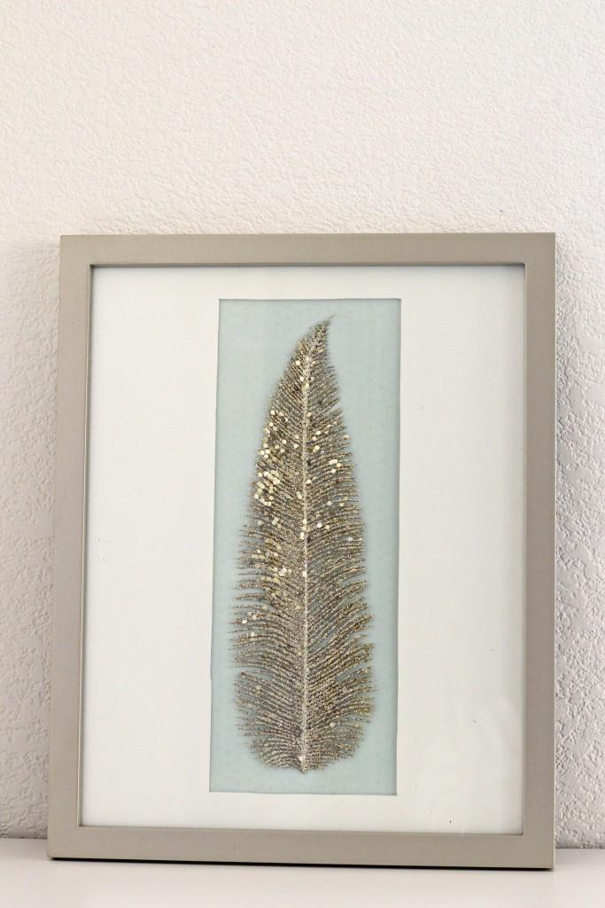 framed-feather-art