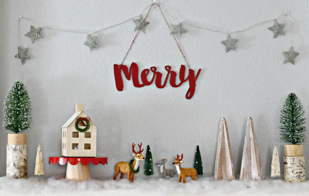 merry-woodland-mantel-scene