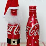 Coca-Cola Bottle Ornaments