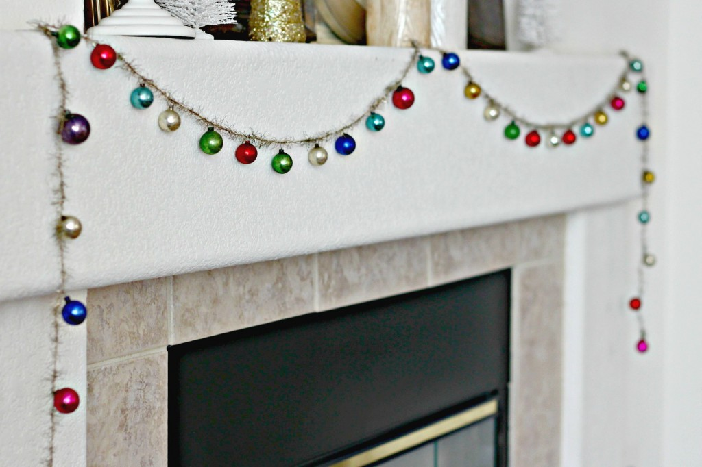 decorate-with-ornaments-mantel-garland