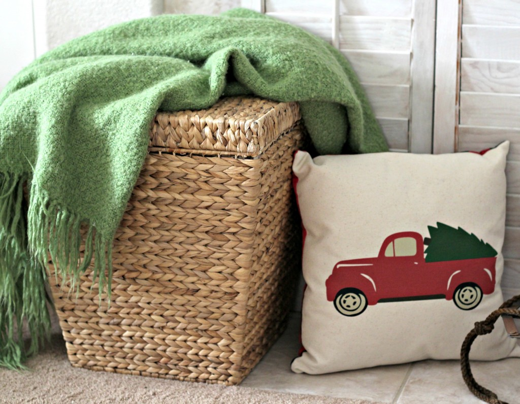 merry-woodland-mantel-truck-pillow