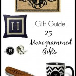 Gift Guide: 25 Monogrammed Gifts for Everyone