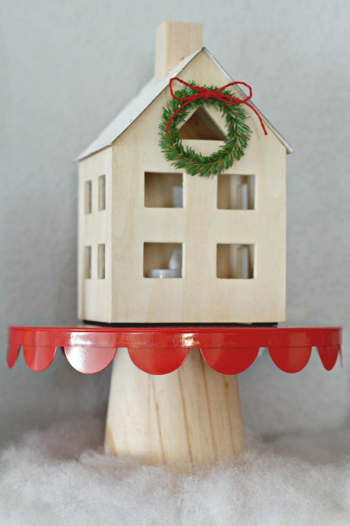Decor Cake Holder : Thrifty Christmas Decorating - Organize and Decorate ...