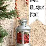 Welcome Home Christmas Porch