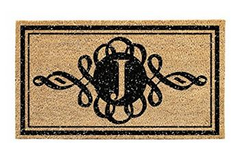 monogram-door-mat