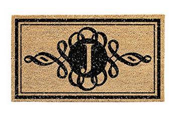 monogram-door-mat