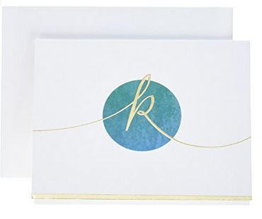 monogram-note-cards