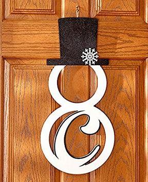 monogram-snowman-door-hanger