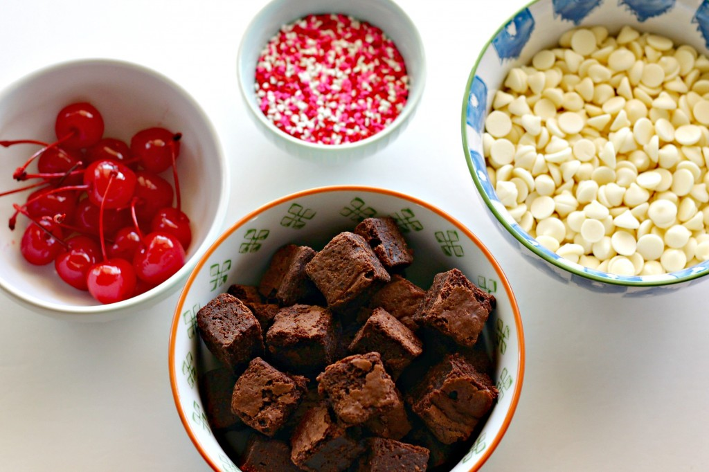 White Chocolate Dipped Cherries ingredients