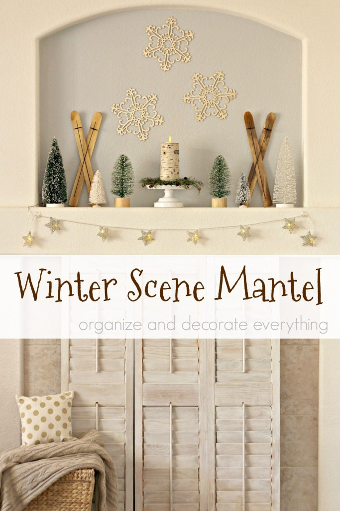 winter-snow-scene-mantel