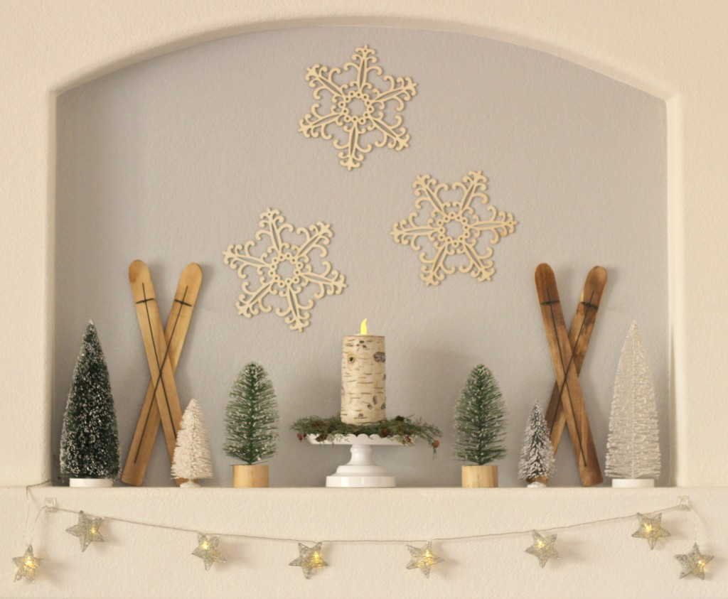 winter-trees-mantel-stars-and-snowflakes