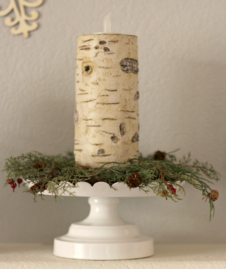 winter-trees-mantel-with-candle