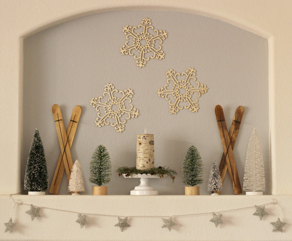 winter-trees-and-skis-mantel