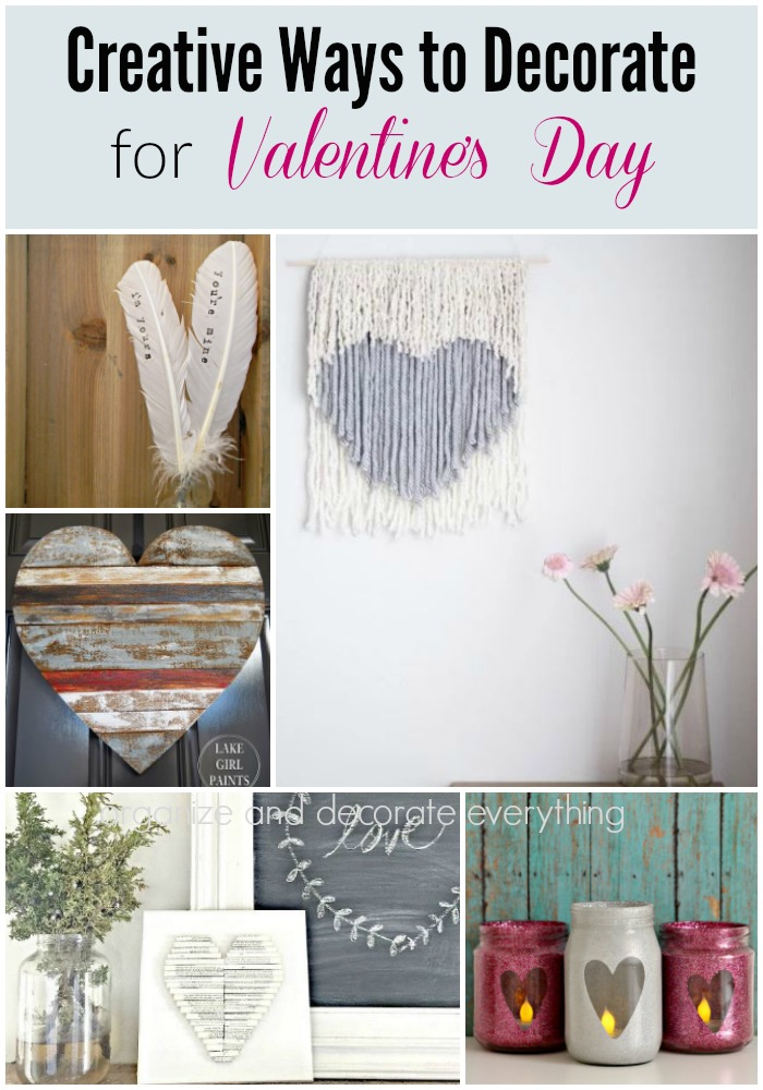 creative and beautiful ways to decorate for valentine's day