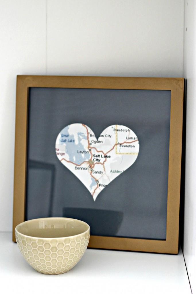 creative heart map