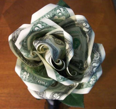 Dollar Bill Rose