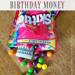 Surprise Birthday Money