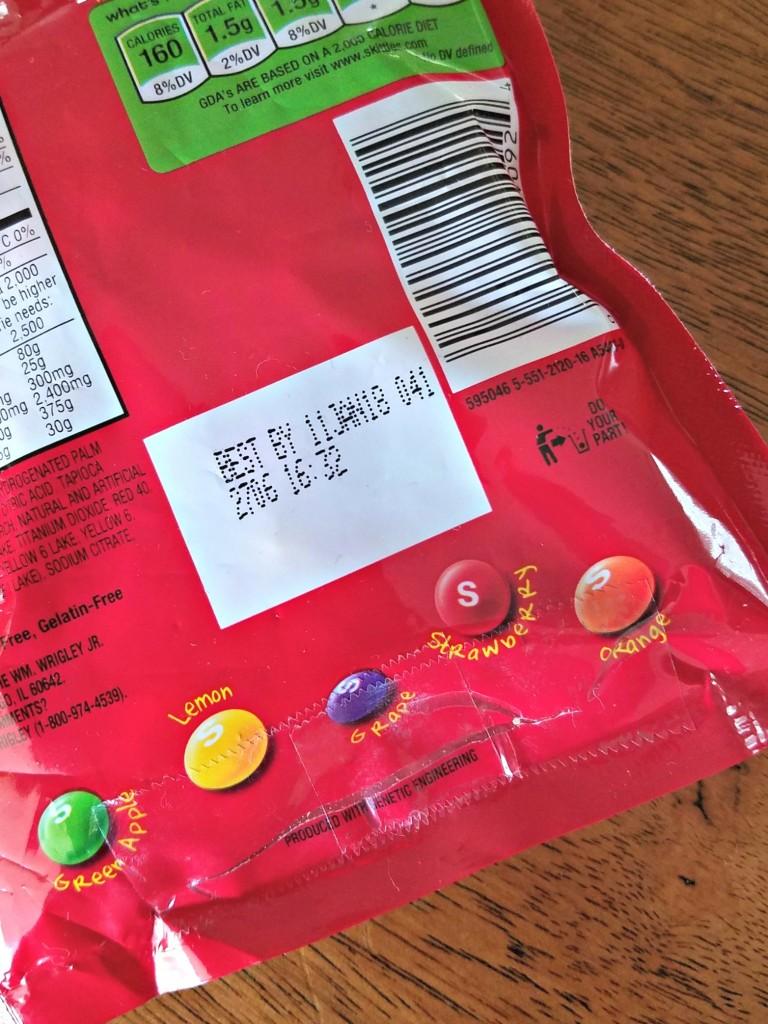 Hidden Money in Candy bag