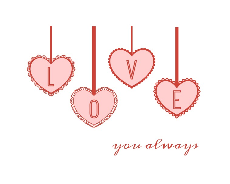 Love You Always printable