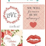 Pink and Red Valentine's Day Printables