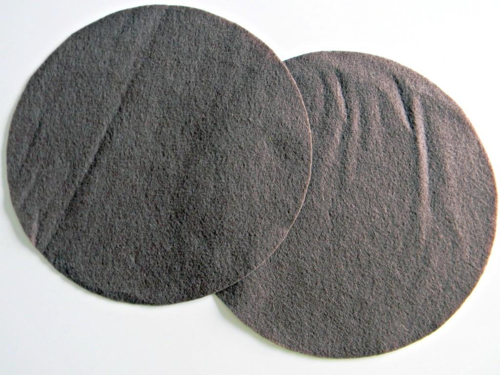 Rock Trivet felt pieces