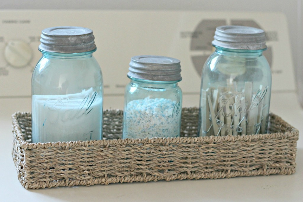 organize your Home organizing with baskets laundry supplies