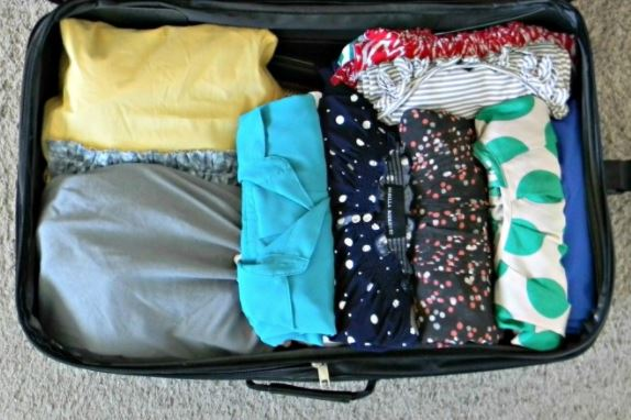Organizing Ideas packing for a trip