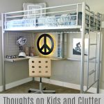 Thoughts on Kids and Clutter