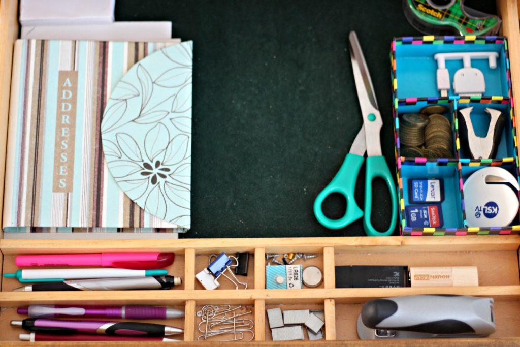 Deck Drawer Organizing