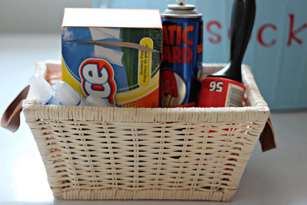 Laundry supply Organizing