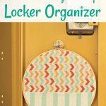Embroidery Hoop Locker Organizer