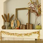 Fall Nature Mantel