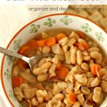 Gluten Free Bean with Bacon Soup