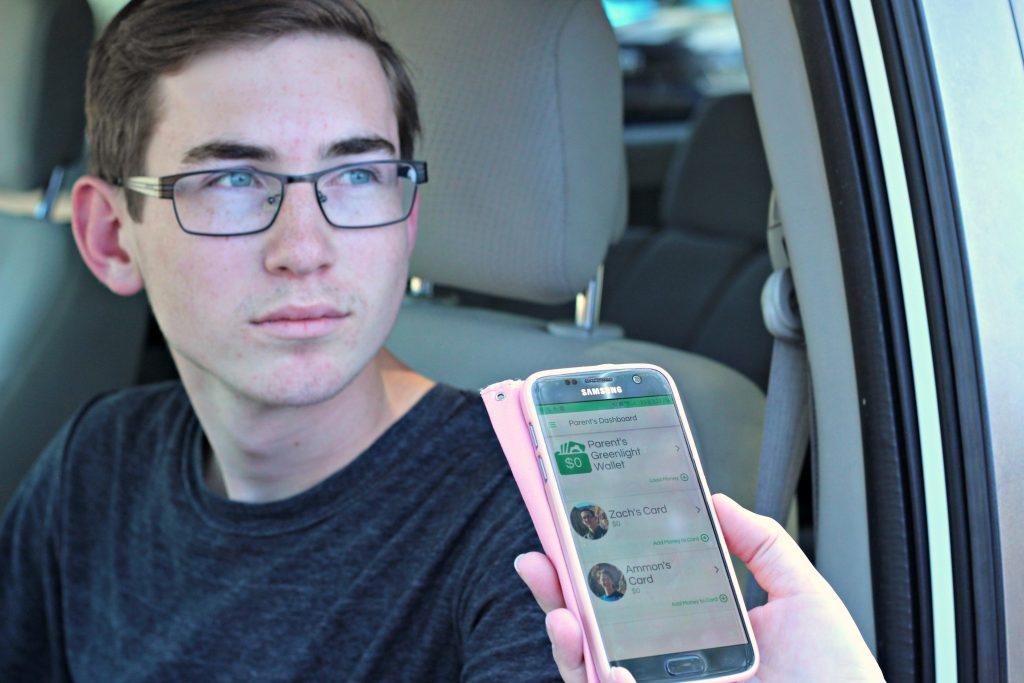 Greenlight App Zach driving