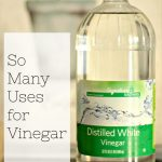 Who Knew There Were So Many Uses for Vinegar