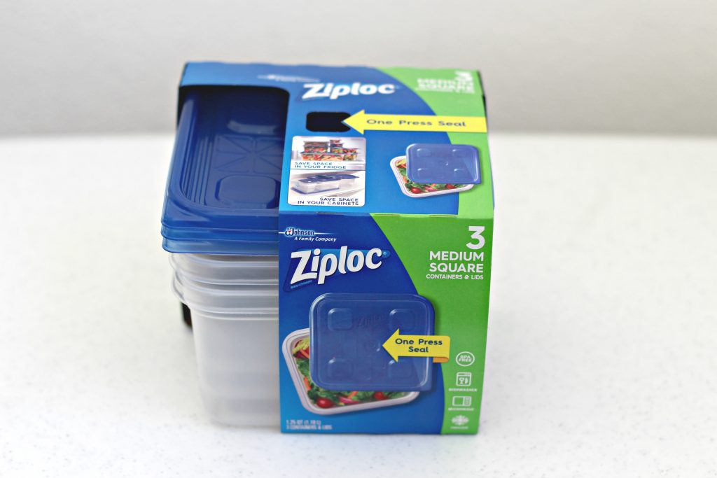 Christmas Kits with Ziploc Containers