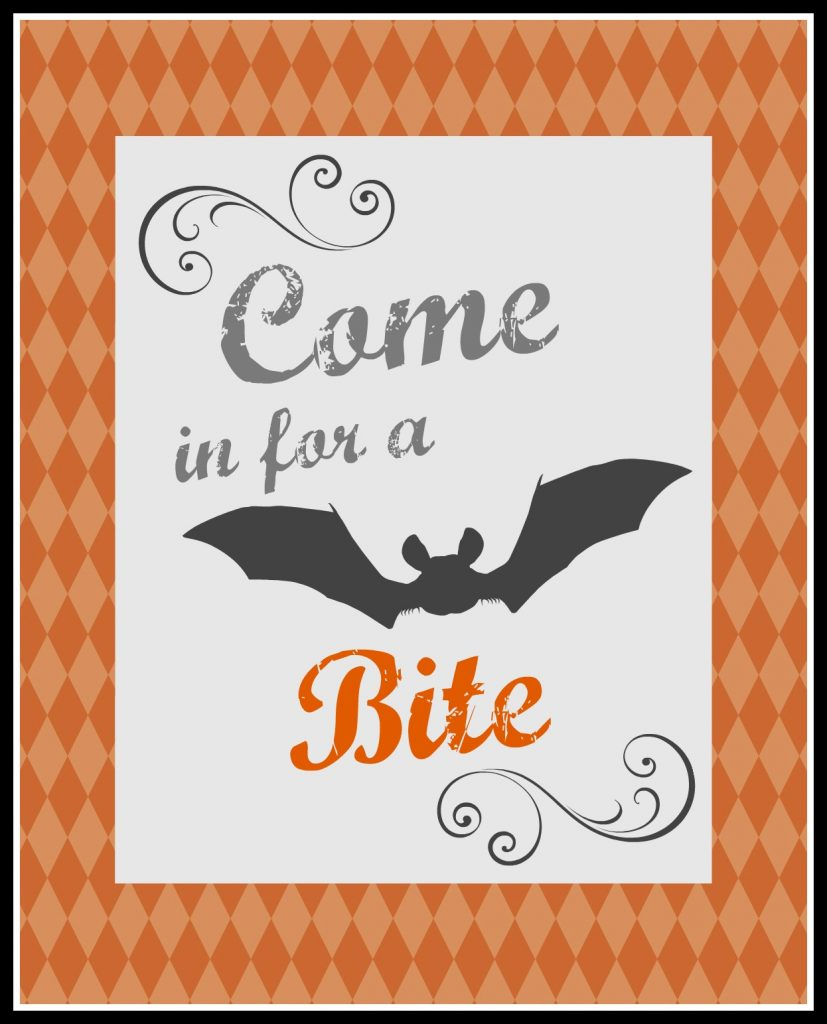come in for a bite printable