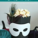 Masquerade Popcorn Box & Kettle Corn Recipe