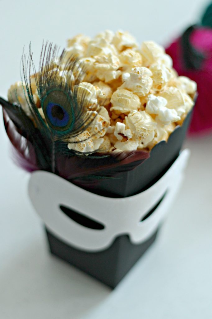 masquerade kettle corn popcorn