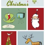 Retro Merry Christmas Printable