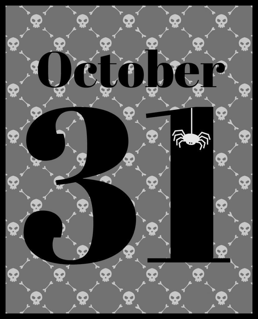 printable October 31
