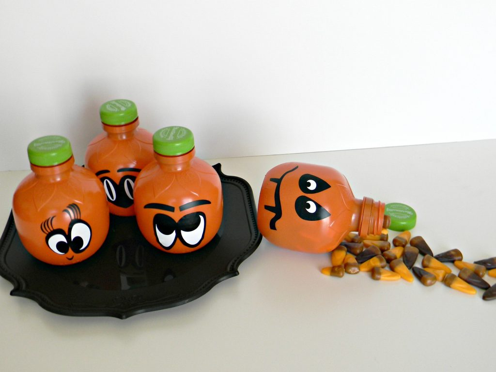 candy filled pumpkins gift