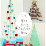 DIY Space Saving Christmas Trees