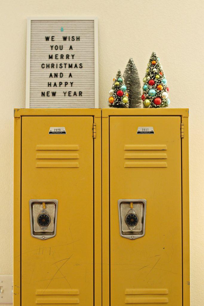Christmas lockers