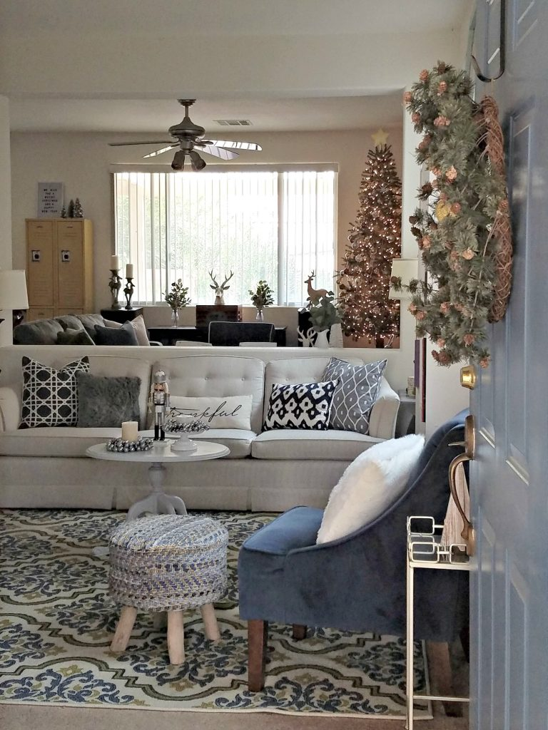 livingroom into house photo