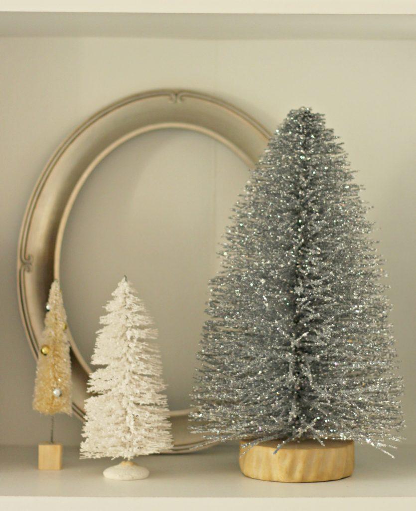 Christmas trees and frame