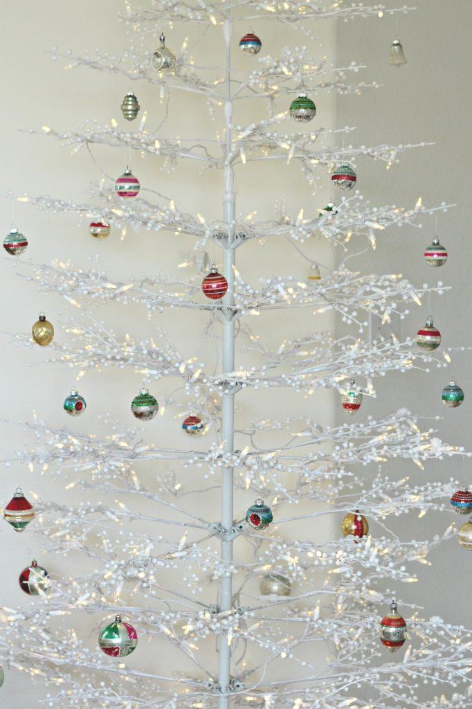 Christmas tree bedroom