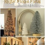 Christmas Home Tour (Rustic Mixed Metal)
